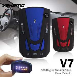 Vehemo V7 Car Radar 16 Band Scanning Speed Control Detector