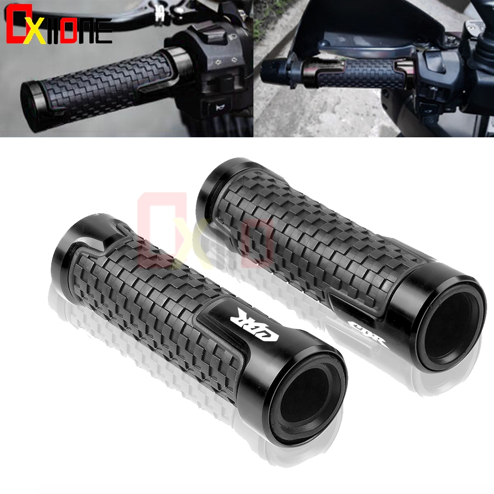 Handle Grip Anti-Skid scooter 22mm Bar Handlebar For Honda CBR125R 150R 250R 250 MC19 MC22 300R/CB300F/<font><b>FA</b></font> <font><b>400</b></font> NC23 NC29 500R 600 image