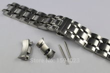 23mm T035617A T035439 New Watch Parts Male Solid Stainless steel bracelet strap Watch Bands For T035 цена