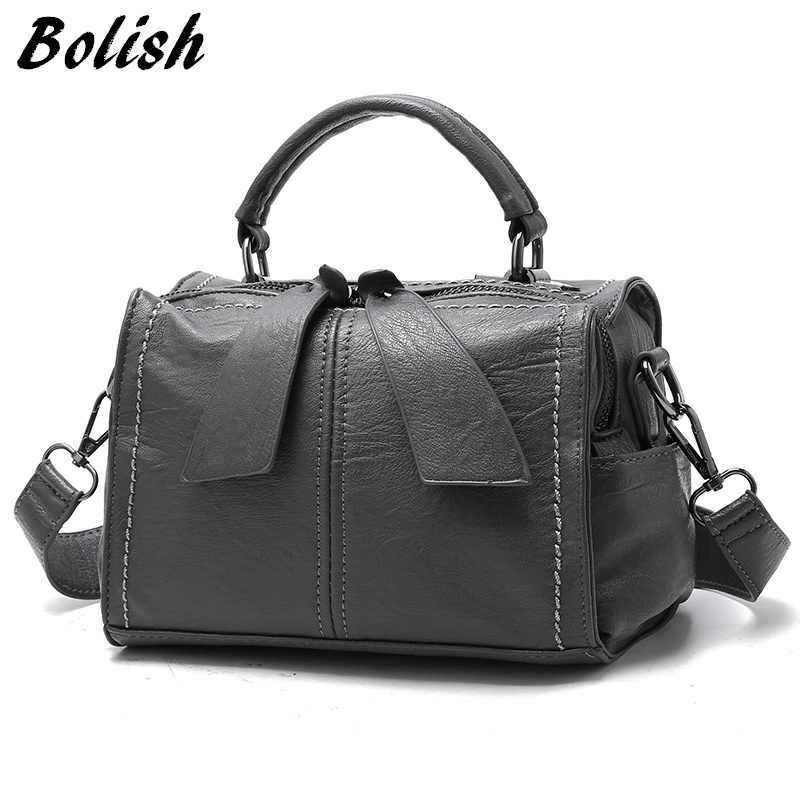 bolish brand soft pu leather women handbag female shoulder bag larger size tote bag women. Black Bedroom Furniture Sets. Home Design Ideas