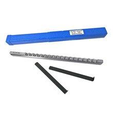 Keyway Broach режущий инструмент метрический размер 10 мм D Push-type с шимом HSS Broaching режущий инструмент нож для ЧПУ