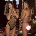 Sexy Lingerie Babydoll for Women Perspective Temptation Body Suit Ladies Sexy Siamese Fishnet Teddy Lingerie