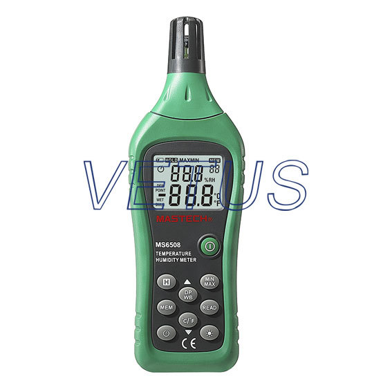 MS6508 digital temperature humidity sensor with Wet Bulb and Dew Point Temperature ht 86 digital thermometer hygrometer wet bulb dew point temperature meter o0s0
