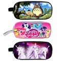 Anime tonari no Totoro/My Little Pony/Unicórnio lápis Casos Titular Caso Das Meninas Dos Meninos Da Escola Dos Miúdos Material Escolar Lapices