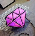 2017 New Top Grade Women Messenger Bags Diamond Shining Laser Single Shoulde Leather Bag For Girls