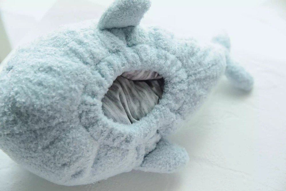 Plush Whale Fish Toy Triver Stuffed Animal Doll Tissue Box Case Napkin Paper Holder Home Shop Office Car Decoration in Stuffed Plush Animals from Toys Hobbies