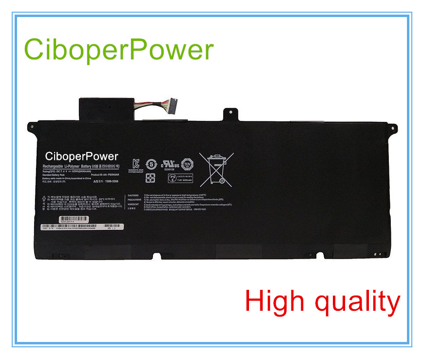 High quality laptop battery for AA-PBXN8AR Battery for p900x4c-a05au Np900x4c a05au NP900X4B new 7 4v 8400mah 62wh aa pbxn8ar battery for samsung np900x4 900x4b a01de 900x4c a01 900x4b a02us free shipping