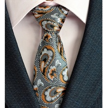 New Design 8cm Plaid Striped Tie Set Jacquard Woven Mens Necktie Gravata Hanky Cufflinks for Wedding Party