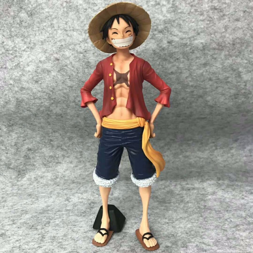 Anime 27CM One Piece Monkey Luffy PVC Action Figure Toy Doll Brinquedos Figurals Collection OP Model Gift image