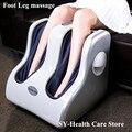 2016 NEW HOT Pé máquina perna dispositivo de massagem de aquecimento infravermelho elétrico aquecido completo instrumento massagem alívio da dor do pé e panturrilha da perna