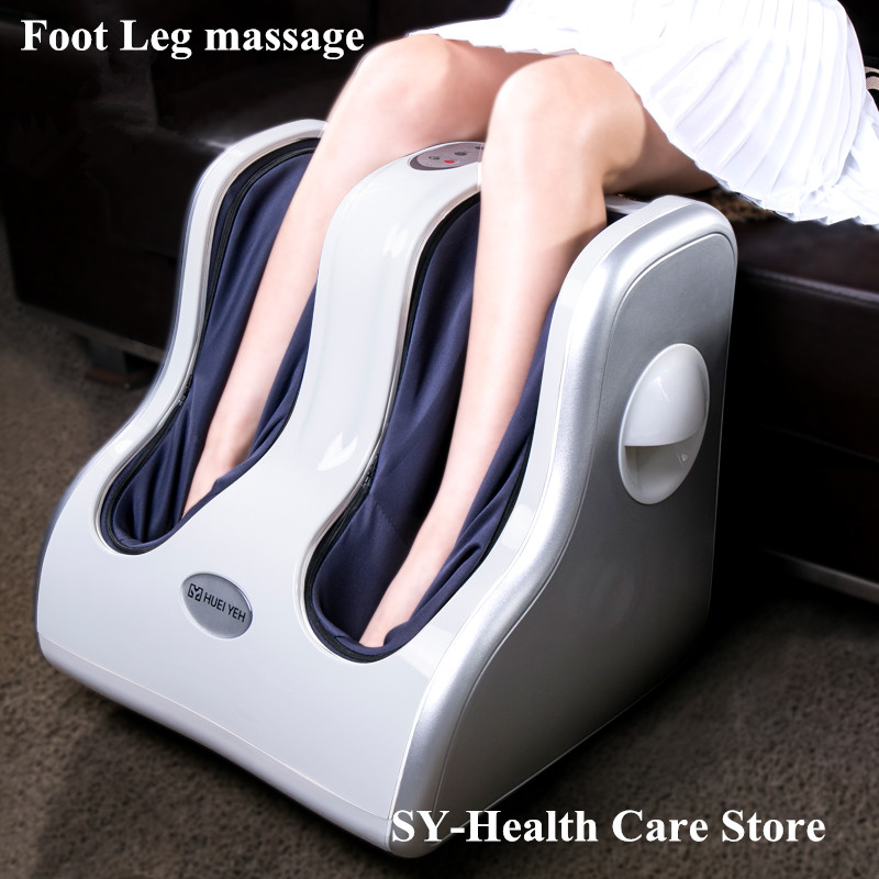 2018 NEW HOT electric Foot machine infrared heating leg massage device heated full leg instrument foot calf beauty leg slimming healthsweet electric antistress foot massager foot massage machines heating viberation foot care device leg massage
