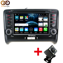 HD 1024*600 Octa Core Android 6.0 Car DVD Player For Audi TT 2006 2007 2008 2009 2010 2011 2012 2013 Radio GPS 2GB RAM 26GB ROM