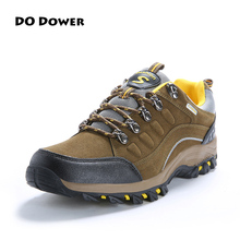 Do Dower Autumn /Winter Men Authentic Waterproof Outdoor Shoes Breathable Lightweight Sneakers Shoes Hot Sale