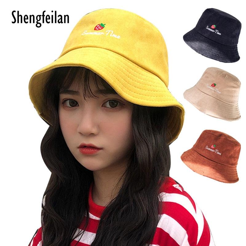 Bucket cap Man Women Unisex cotton Banana Hat printing letter fisherman s  hat Fishing Bucket big- 0a959887c95b