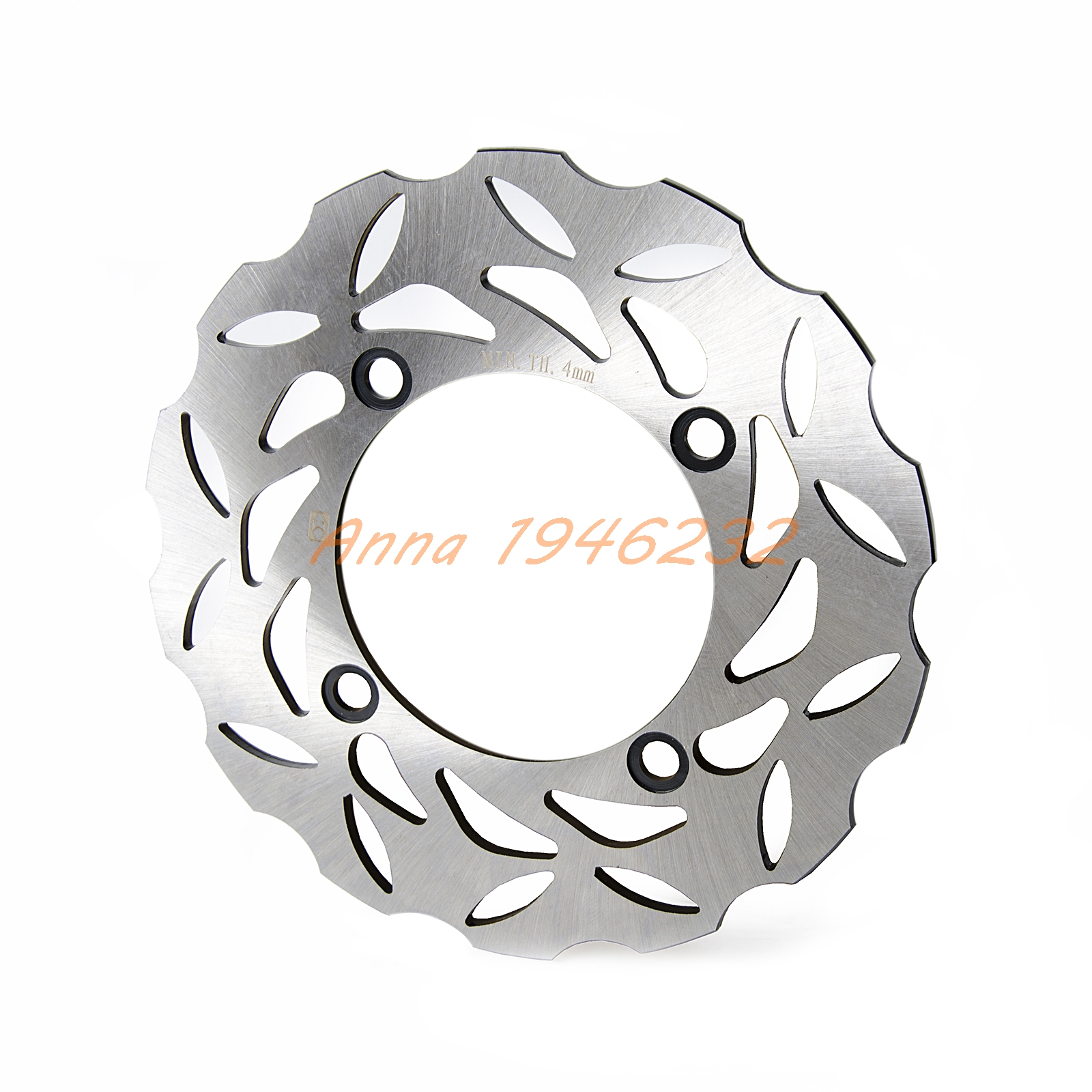 New Motorcycle Rear Brake Disc Rotor For Triumph DAYTONA 600 675 T595 T955i BABY SPEED TT 600 STREET TRIPLE 675/R T955 1050 for lifan motorcycle lf150 9m new street fighter new rear brake accessories