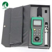 Mastech MS6300 окружающей среды тестер Люкс метр Температура и влажность метр ветер Скорость поток воздуха шумомер