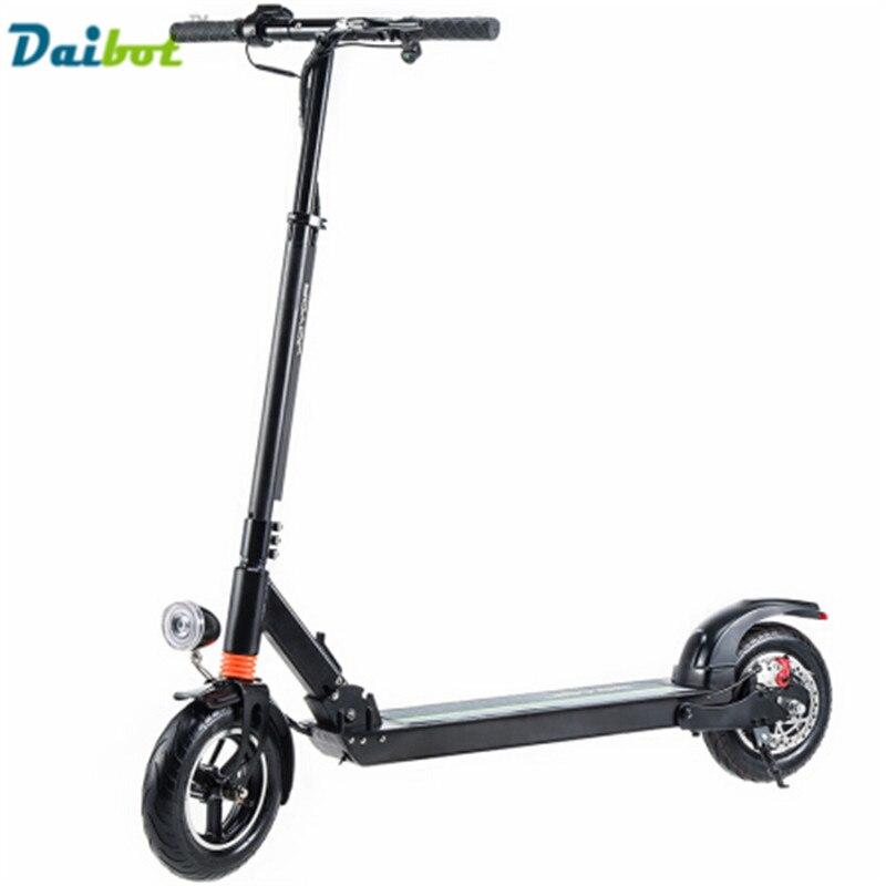 Daibot Y1 Y3 Y5 Y5S Y6 Pieghevole Electirc Scooter 10 pollici bici pieghevole Elettrica Skateboard Hoverboard Bicicletta Scooter calcio No tassa