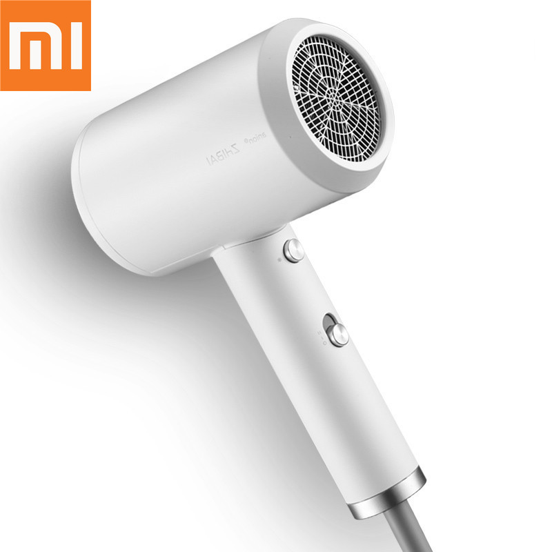 Original Xiaomi mijia zhibai hair dryer Portable Anion HL3 1800W 2 Speed Temperature Blow Dryer for Travel home kits