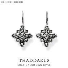 Серьги-капли марказит звезда цветок модный подарок для женщин Ts высокое качество серьги Томас Стиль серебро Цирконий модные ювелирные изделия