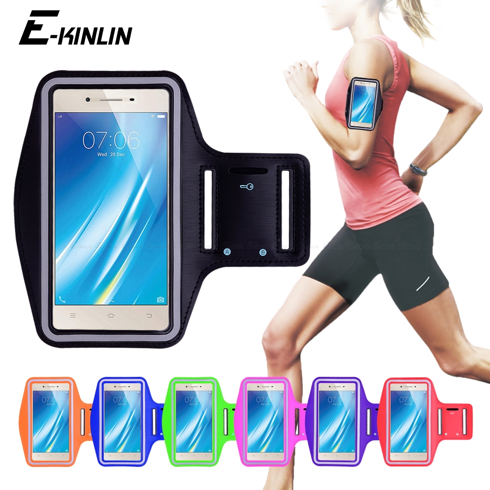Running Jogging Gym Sports holder Bag Pouch Cover Arm Band Phone Case For BBK vivo Y37 Y35 Y33 Y31 Y25 Y51 Y53i Y53 Y55 Y55s