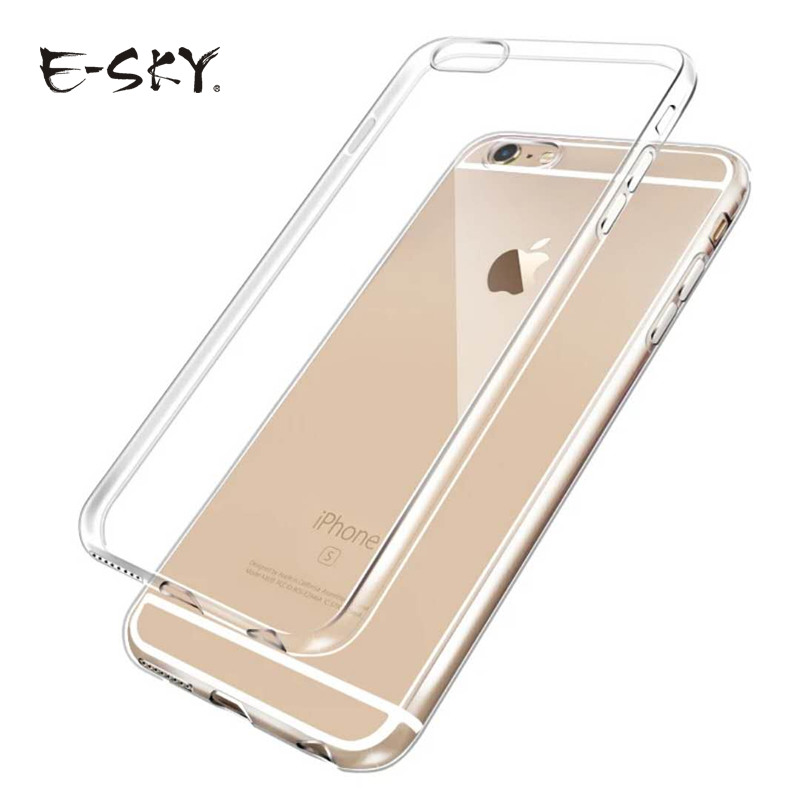 E SKY Ultra Thin Soft TPU Phone Cases For iPhone6 6s font b 7 b font