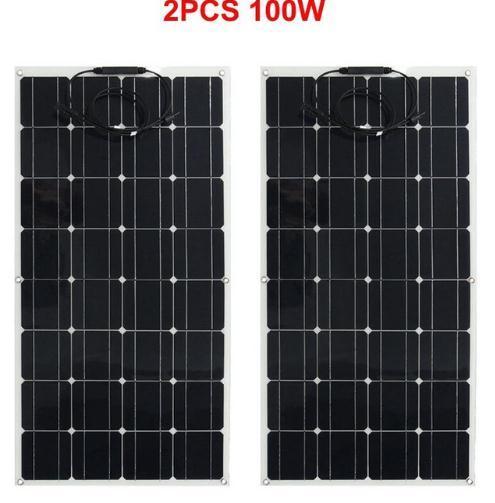 100w 12v  half flexible Solar panel