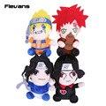 Anime Naruto Uchiha Itachi Plush Dolls/Uzumaki Naruto/Uchiha Sasuke/Gaara Brinquedos de Pelúcia Macia 4 pçs/lote 20 cm