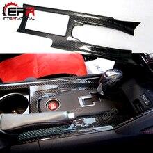 Для Nissan R35 GTR тюнинг углеродного волокна центральной консоли крышка (RHD) Car Kit преобразуется OEM переключения консоли чехол Комплект
