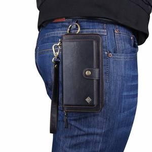 Image 2 - Carteira com pulseira para celular, bolsa de couro com capa para proteção de luxo huawei p30 pro lite nova4e funda etui saco do saco