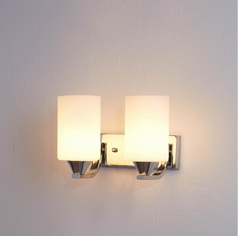 New Modern Wall Sconce Glass Bed Light Reading Parede Brief Wall Lights E27 Led Light Bathroom 110V 220V Indoor Stair Lighting modern brief bedside wall lamps 1w led reading light lamp wall bed hose rocker arm reading wall lighting fabric lampshade wwl098