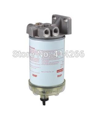 Universal parts For preline Diesel engine R90P assembly 490R fuel water separator filter with water BOWL water pump diesel engine parts fit for weifang ricardo r4105 series diesel generator engine
