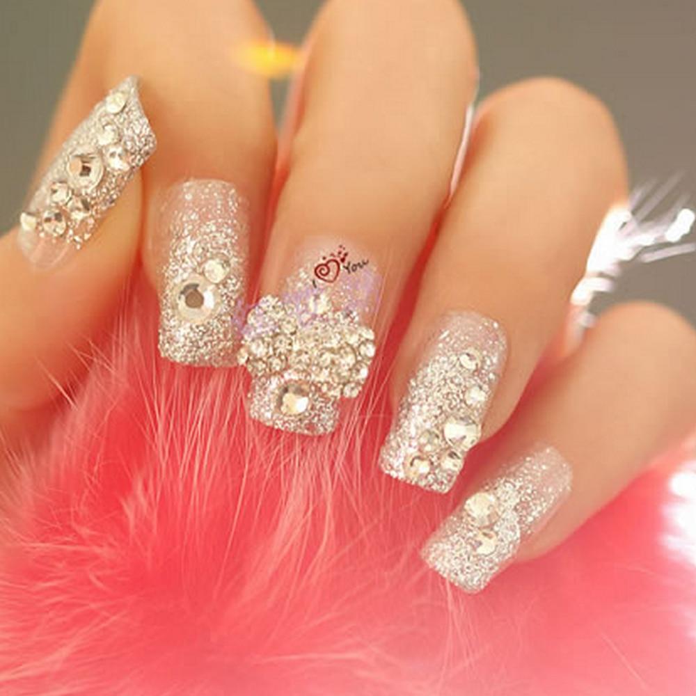 Perfect Summer 3D Acrylic Diamond 2mm nail art Decorations Wheel 3 ...