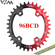 VXM 32T 34T 36T 38T 96BCD Aluminum Alloy Oval Chainring Chainwheel Road Bicycle Chain Ring for M7000 M8000 M9000 P