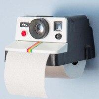 독특한 카메라 조직 상자 플라스틱 화장실 조직 펌핑 창조적 인 홈 티슈 상자