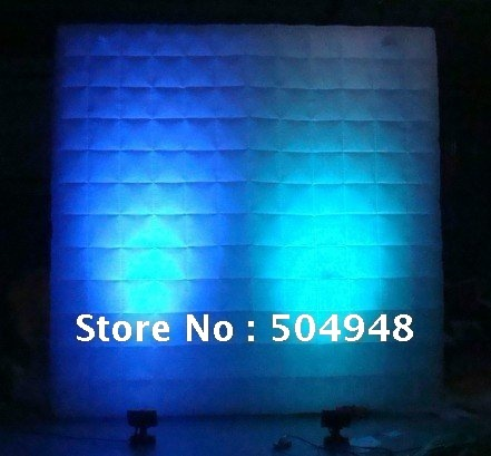 inflatable lighting wall for advertising decoration ao058m 2m hot selling inflatable advertising helium balloon ball pvc helium balioon inflatable sphere sky balloon for sale