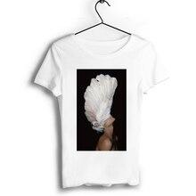 Aesthetic Art Gir Oil Painting Graphic Couple Summer Men T Shirt Short O-Neck T-shirt Vintage Print Boyfriend Gift Tops T-shirt v neck graphic print henley t shirt
