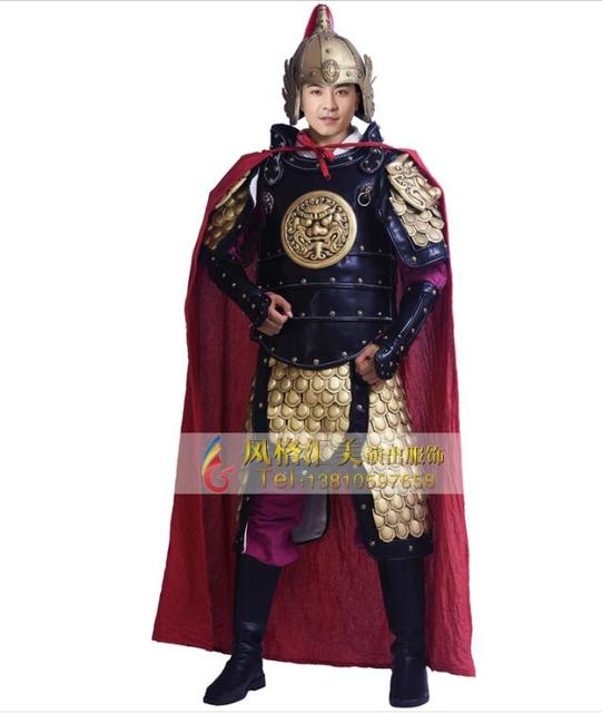 a0938c512 Ancient chinese costume Chinese armor General-in Chinese Folk Dance ...