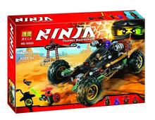 Bela 10524 Ninjagoes Black Chariot Ninja Bricks Toy Minifigures Building Block Minifigure Toys Best Toys