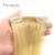 Clipe de Cabeça cheia em Extensões Do Cabelo Humano #613 Brasileiro Virgem Grampo na Extensão Do cabelo 100% Natural Do Cabelo Humano Grampo em extensões