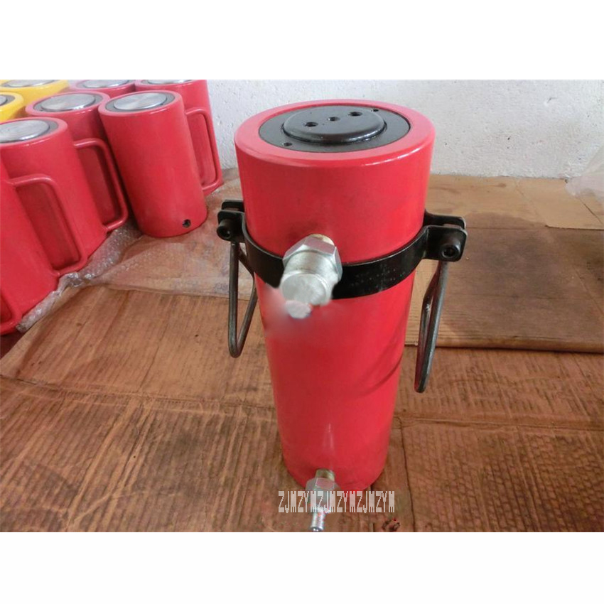 New Arrival RSC-30T150 Hydraulic Jacks Large Tonnage Jacks 30 Tons / Stroke 200mm (Double Loop) Lengthened Hydraulic Cylinder car repair replacement tires and other structural features hydraulic jacks use
