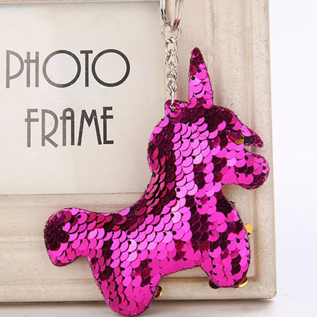 BLINK CUTE UNICORN KEYCHAIN (4 COLORS)