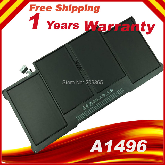 "Laptop Battery A1496 For Apple MacBook Air 13"" A1466 A1496 A1369 020-8142-A MD760LL/A MD761CH/A"