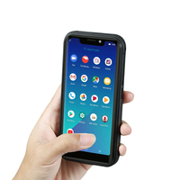 Guophone Smartphone Real Waterproof Android 8.1 5.5 U Notch Screen Quad Core 2+16GB 3G 4G LTE 5000mah Rugged Outdoor Cellphone