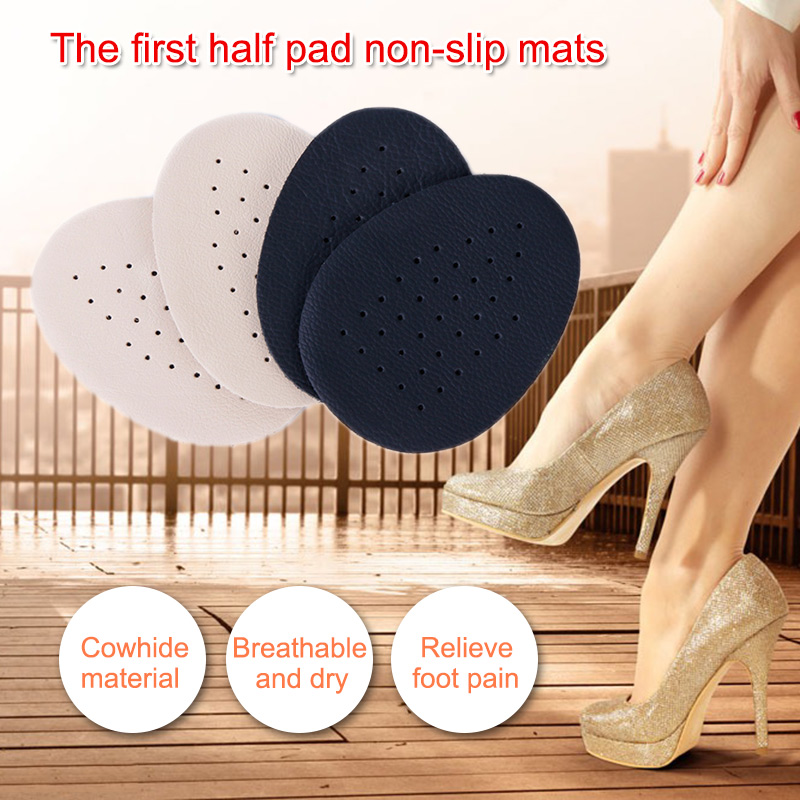 1 Pairs Half Insoles Comfortable Leather Bottom Latex Anti Slip Breathable High Heel Shoes Pad Zapatos De Mujer Shoes Woman1 Pairs Half Insoles Comfortable Leather Bottom Latex Anti Slip Breathable High Heel Shoes Pad Zapatos De Mujer Shoes Woman