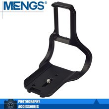 "MENGS D5-LBG 1/four"" Screw Digicam L-Formed Fast Launch Plate With Battery Grip Slot For D5(14010017101)"
