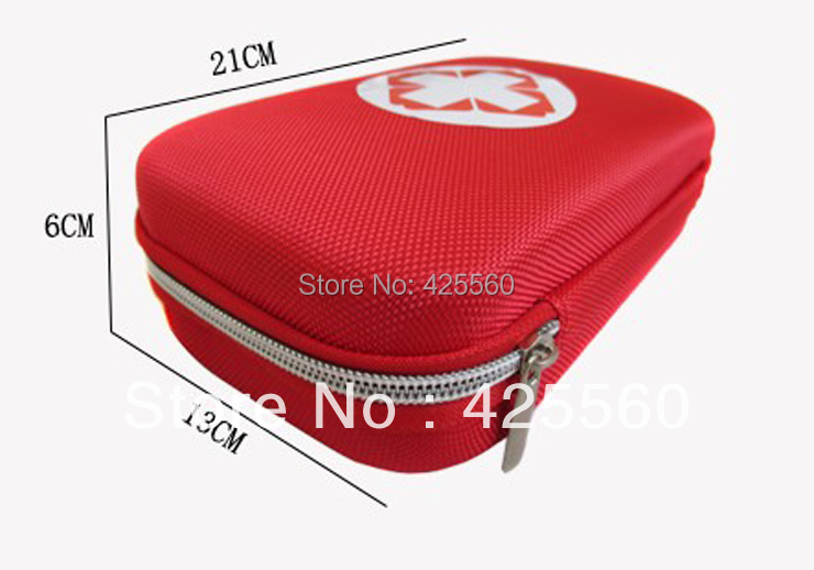 Free Shipping Outdoor Products First Aid Kit Portable Field Pack Vehienlar Household Travel Medical Kits In Emergency portable penlight torch medical emt surgical first aid flashlights lights free shipping