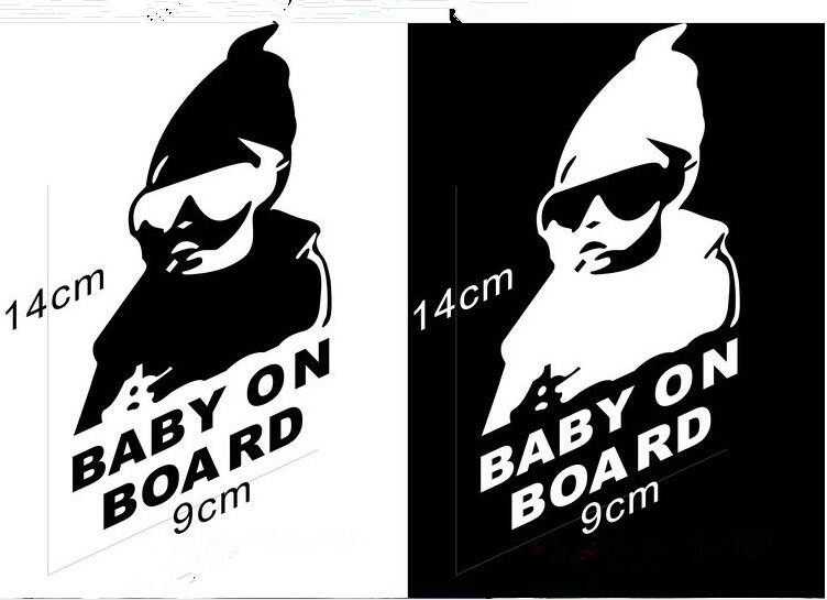 Bad kid, car motorcycle, personality sticker for Suzuki Jimny The Kizashi Grand Vitara SX4 VITARA Works Baleno Swift accessories