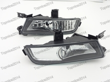 цена на 1Pair UK Version Front Bumper Light Driving Fog Lamps For Honda CRV 2015-2016