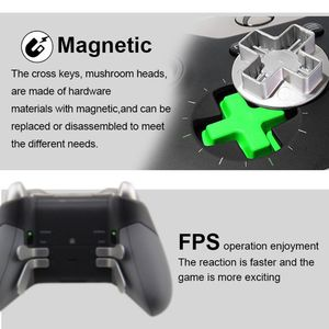 Image 5 - Swap Thumb Analog Sticks Grips Stick D Pad Bumper Trigger Button Screw Driver Storage Bag Gamepad Replacement for Xbox One Elite