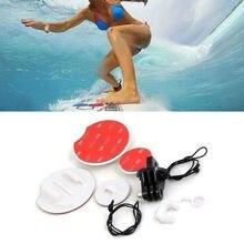 Surfboard Surfing Mounts Kit GoPro Accessories Tethers FCS Plug Rubber Locking Plug For xiaomi yi Gopro Hero 4 3+ 3 2 SJCAM